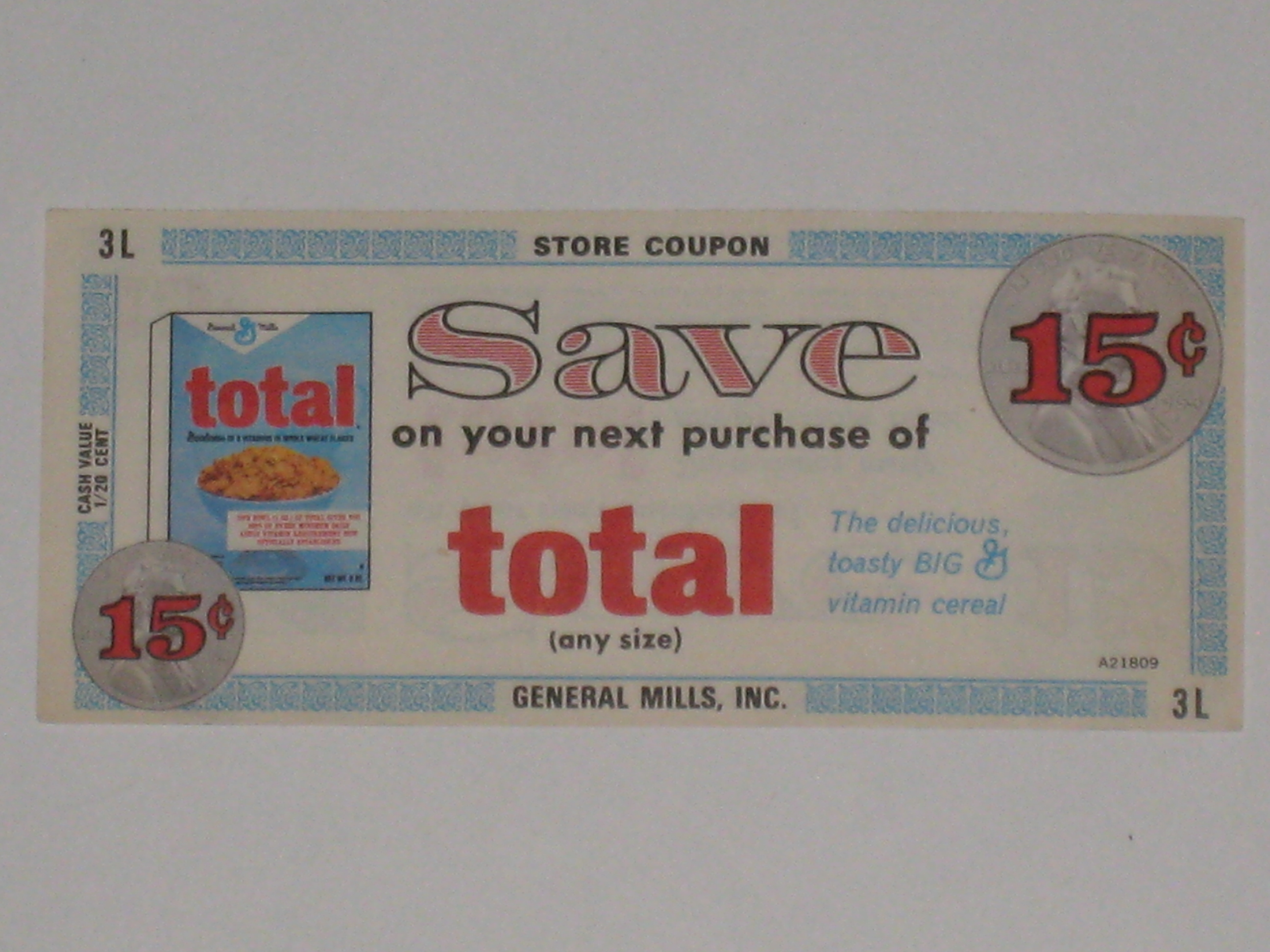 vintage coupon