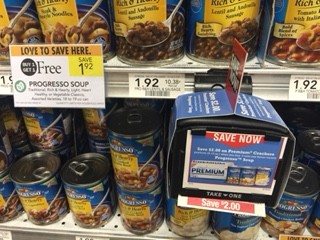 Progresso Soup Coupon Alert