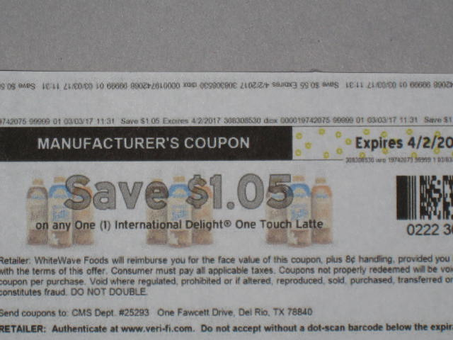 International delight printable coupons canada