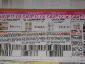 jergen's coupon errors
