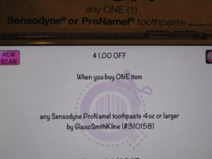 sensodyne coupon error