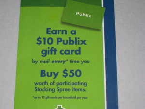 publix gift card rebate