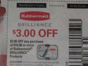 rubbermaid coupon error