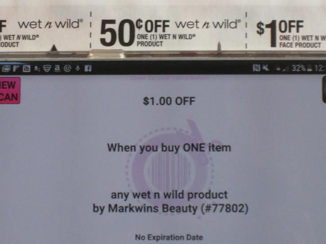 picture regarding Wet N Wild Printable Coupon identify Soaked n Wild Coupon Oversight Dusty WalletDusty Wallet