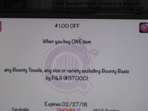 Hot bounty coupon