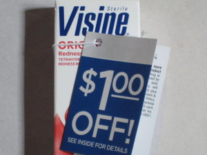 Visine coupons