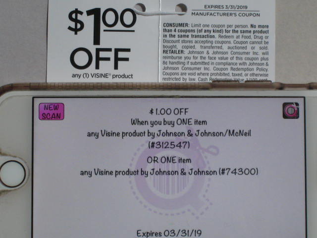 photograph about Guess Printable Coupons identified as Visine Coupon codes - Dusty Wallet